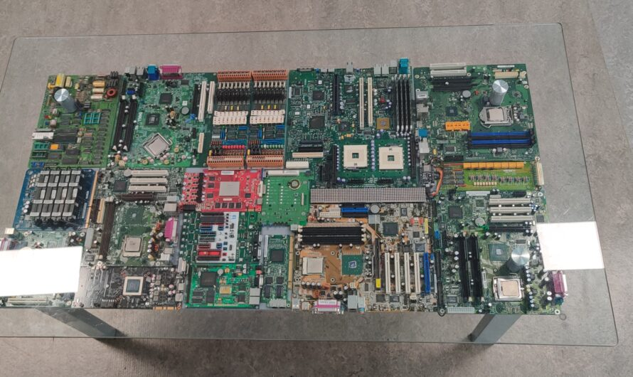 The Circuit Board Coffee Table