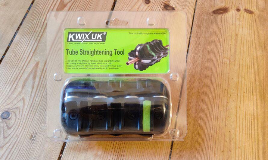 Review: Kwix UK 4 mm Tube Straightening Tool