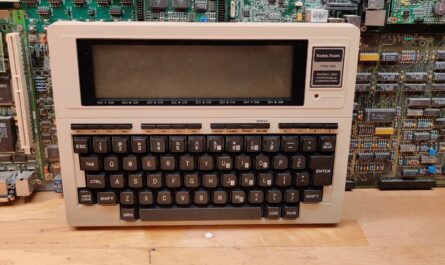 Tandy Radio Shack RTS-80 Model 100