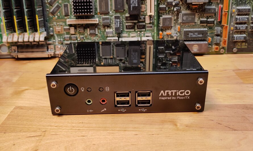 VIA Artigo A1000 Pico-ITX